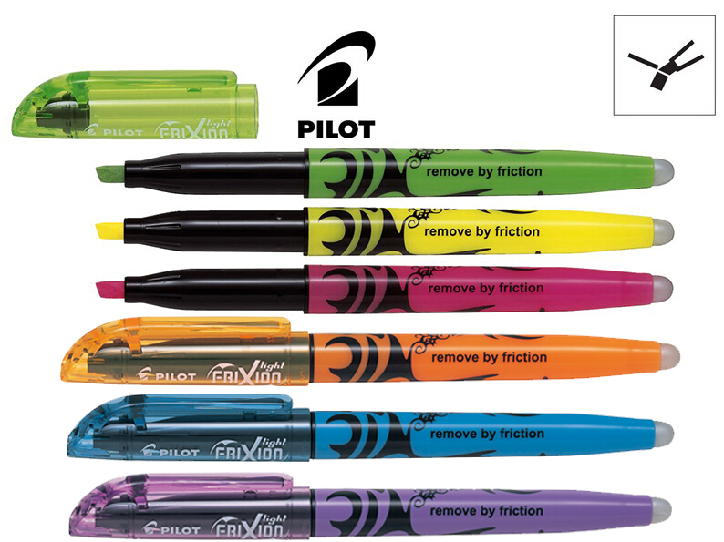 Us 22 5 6x Japan Pilot Frixion Erasable Pen Sw Fl Marker Pen Office And School Stationery Free Shipping In Gel Pens From Education Office Supplies