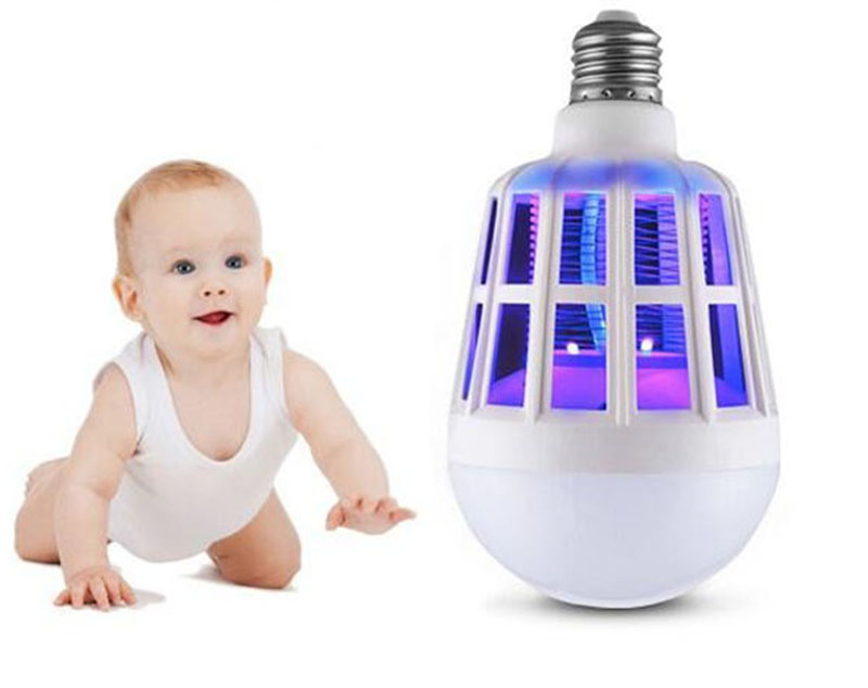 Adaptable Beylsion Mosquito Killer Lamp E27 Led Bulb 2 Modes Electric Mosquito Trap Light 220v15w Anti Insect Killer Zapper Bug Lamp1 Light Bulbs