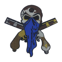 29cm Masked Robber Patches Motor Cycles Embroidered Patches Jacket iron patches T Shirt Patch Stickers Lager Size