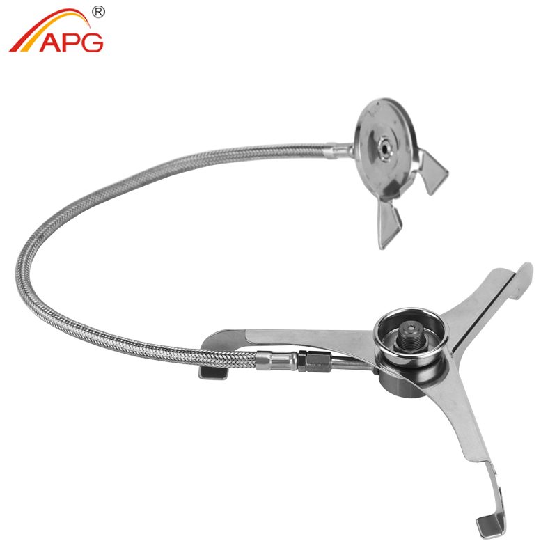 Camping Stove Adapter Lengthened Link Cooking Connector Conversion Picnic Gas Stove Transfer Head