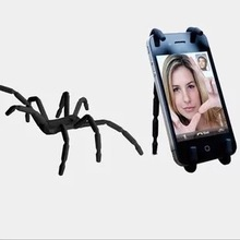 Universal Spider Mobile Phone Holder For Iphone 6 Plus Stent For Samsung S6 Edge S5 Car Holder Stand Support Cell Phone Holder