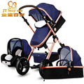 2017 3 в 1 детские коляски свет малолитражного автомобиля новорожденного ребенка перевозки 0 ~ 36 месяцев Европе детская коляска перевозки пять цвет быстрая доставка