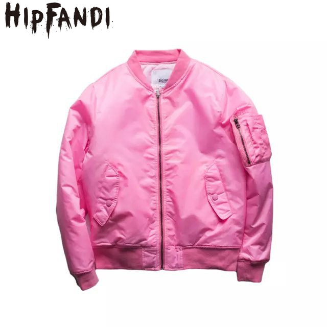 Aliexpress.com : Buy HIPFANDI New Harajuku Pink/khaki fleece pilot ...