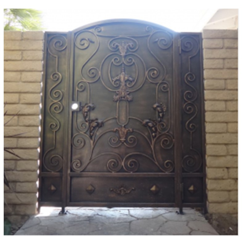 gates and fence design steel gates wrought iron gates-in ... on Iron Get Design  id=88498