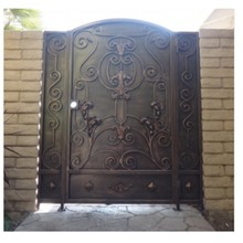 Buy steel fence design and get free shipping on aliexpress gates and fence design steel gates wrought iron gateschina workwithnaturefo