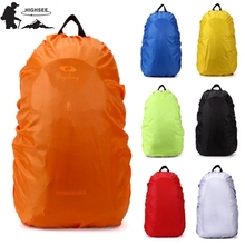 HIGHSEE 35-80L Waterproof Rain Cover Sport Bag Backpack Rain Cover Mountaineering Bag Backpack 50l Outdoor Camping Climbing Bag