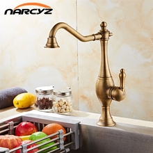 New Arrival Brass Kitchen Faucet Mixer Cold and Hot Kitchen Tap Single Hole Water Tap Bathroom