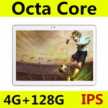 tablet pc 10.1 inch Android 5.1 octa core 3G phone call tablet ram 4GB rom 128GB 1280 * 800 IPS MTK8752 Tablets pcs