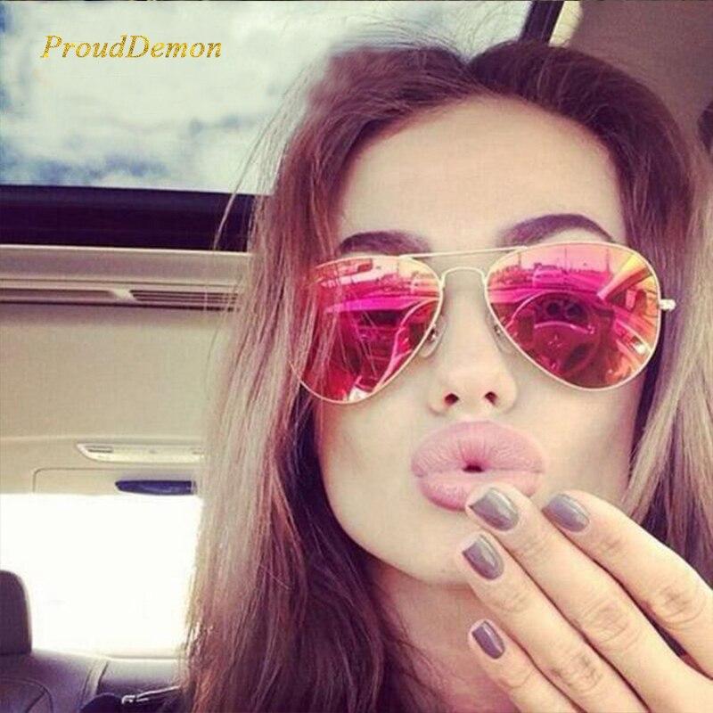Klassisk polariserad solglasögon Kvinnor Körspegel Glasögon 2019 NY Pilot Solglasögon Märke Designer UV400 oculos de sol