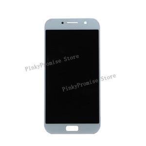 "Image 2 - 5.2 ""SAMSUNG GALAXY A5 2017 LCD A520 A520F SM A520F Ekran dokunmatik ekranlı sayısallaştırıcı grup SAMSUNG için yedek A520 LCD"
