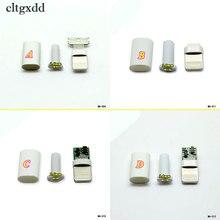 Cltgxdd enchufe macho de 8 pines para soldadura, convertidor de adaptador de conector USB para iphone 5, 5s, 6, 6s, 7, 8 plus