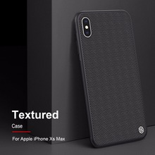 Case for iphone XS Max NILLKIN Textured Nylon fiber case back cover for iphone XS Max XR durable non-slip Thin and light