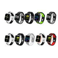 S226 Smart Horloge Vrouwen Mannen Sport Modi Bluetooth Waterdichte Hartslagmeter Bloeddruk for Iphone IOS Android
