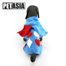 Купить с кэшбэком PETASIA PET Dog Clothes For Small Dogs Funny Dog Clothes Winter Cosplay Chihuahua Clothes French Bulldog Pet Clothes XS