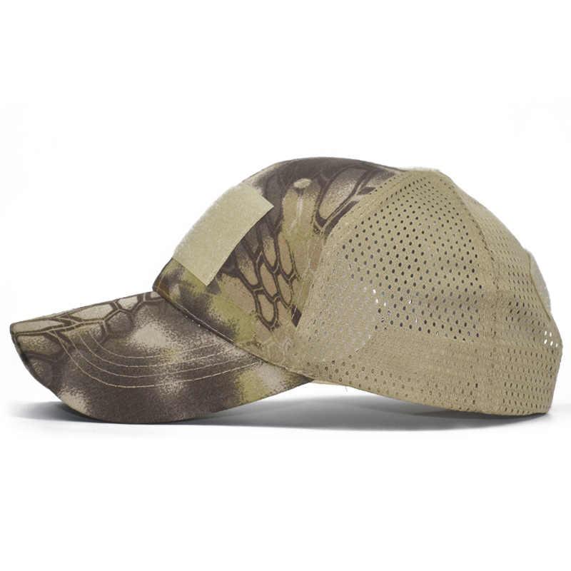 ACU Multicam Кепка оператора спецназа армейская камуфляжная сетчатая Кепка страйкбол шляпа для мужчин тактическая контракторская бейсболки в стиле милитари шляпа