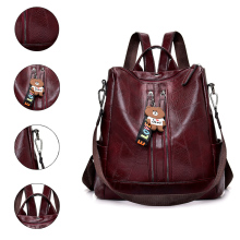 2019 Fashion Women Backpack High Quality Youth Leather Backpacks for Teenage Girls Female School Shoulder Bag Bagpack mochila цены
