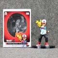 5.5 ''13. 5 см Рисунок Ash Ketchum Пикачу Детские Игрушки ИЗ ПВХ Партнеров Фигурку Смолы Коллекция Модель Кукла Подарков кукла