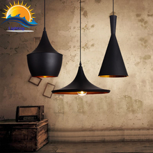 Vintage Style lamp European Industrial Wind pendant light E27 base droplight for restaurant home decoration Guest Room LED bulb