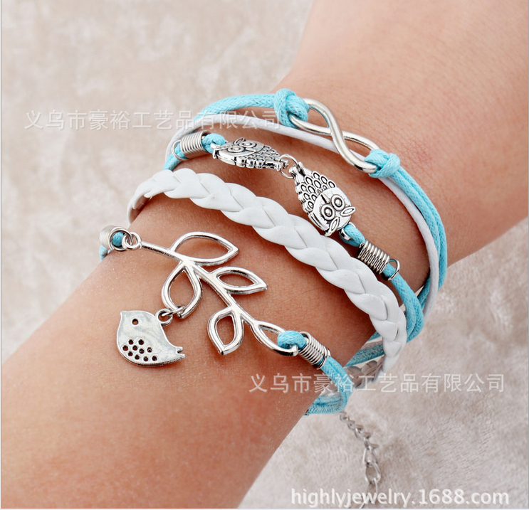 Free shipping! 7 male female Bracelets & bangles w...