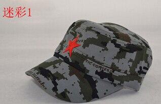 50 шт./партия Federal Express быстро в китайском стиле для женщин Мужская хлопковая Маскировочная шапка Регулируемая Повседневная бейсбольная кепка мягкая шапка - Цвет: 1