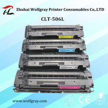 Remanufacturados CLT-506L 506l clt-k506s cartucho de tóner de color para SAMSUNG clt-k506l CLP680 CLX6260