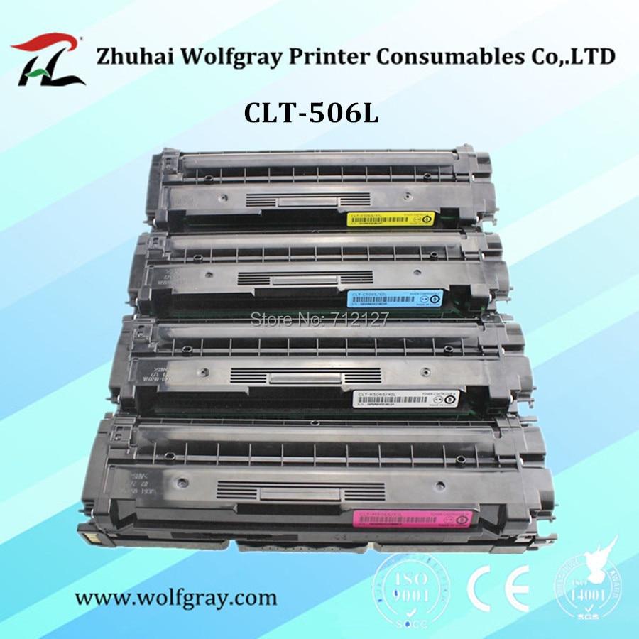 Жаңартылған CLT-506L clt-506s 506l 506s clt-k506l clt-k506s түсті тонер картриджі үшін SAMSUNG CLP680 CLX6260