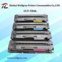 Remanufactured CLT 506L clt 506s clt k506s clt k506l 506l 506 s cartucho de toner de cor para SAMSUNG CLP680 CLX6260|toner cartridge|color toner cartridgesamsung toner cartridge -