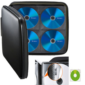 Image 4 - ymjywl CD Case Blu ray Disc Box High quality CD / DVD Storage Package 160 Discs Capacity For Car Travel CD Storage Equipment
