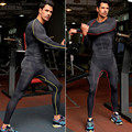 Новый 2016 мужчины брюки фитнес брюки мужчины сжатия моды плотно bodubuilding леггинсы мужские дышащий спортивные штаны
