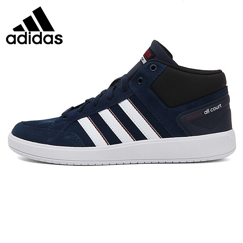 Original New Arrival 2018 Adidas CF ALL COURT MID Men's Tennis Shoes Sneakers adidas original new arrival official neo women s knitted pants breathable elatstic waist sportswear bs4904