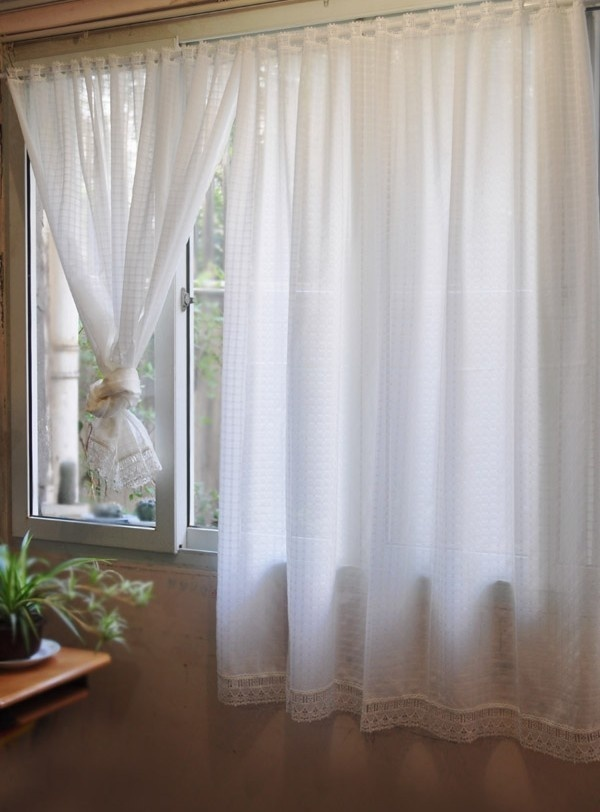 Aliexpresscom Buy White Window Short Curtains French Provincial