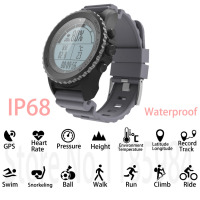 New S968 GPS Smart Watch IP68 Waterproof Smartwatch Heart Rate Monitor Temperature Multi sport Men Swimming Running Sport Watch