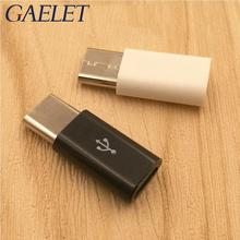 1pcs USB Type C Male to Micro USB Female Adapter Type-C Converter Connector USB-C black and white ZK30 usb 3 1 type c female to micro usb male usb c data adapter converter connector for phones black white