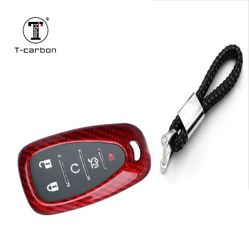 Véritable porte-clé de voiture en Fiber de carbone porte-clés de voiture pour Chevrolet Camaro business