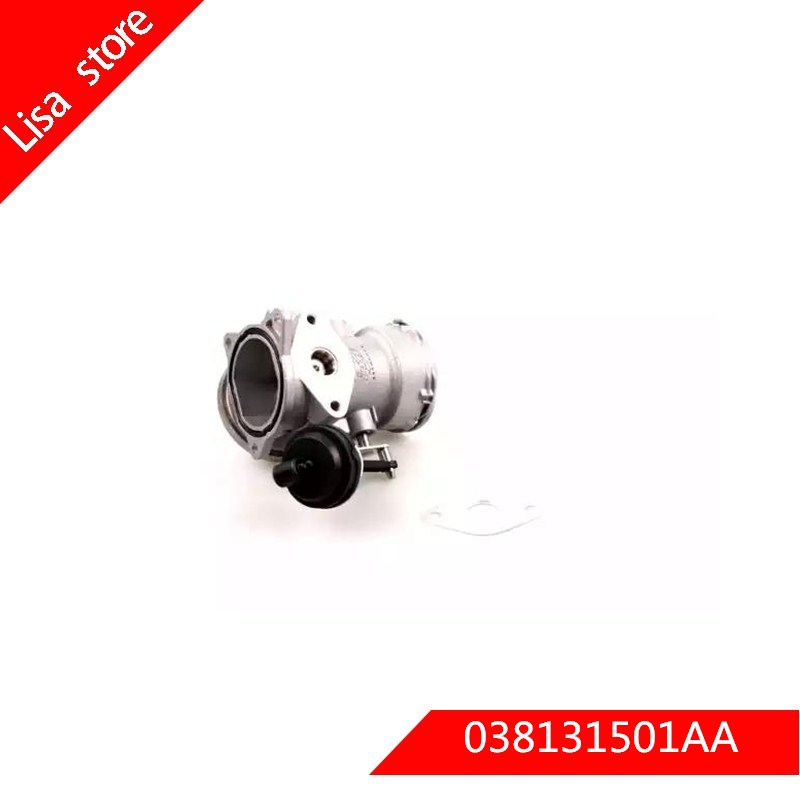 EGR VALVE WITH COOLER for Audi A4 for Audi A6 for Passat for V W Sharan 7M8 7M9 7M6 <font><b>038131501AA</b></font> 038131501A image
