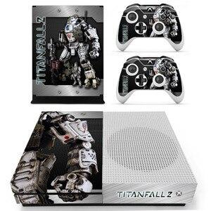 Игра Titanfall 2 наклейка на кожу для Microsoft Xbox One S консоль и 2 контроллера для Xbox One S Наклейка на кожу