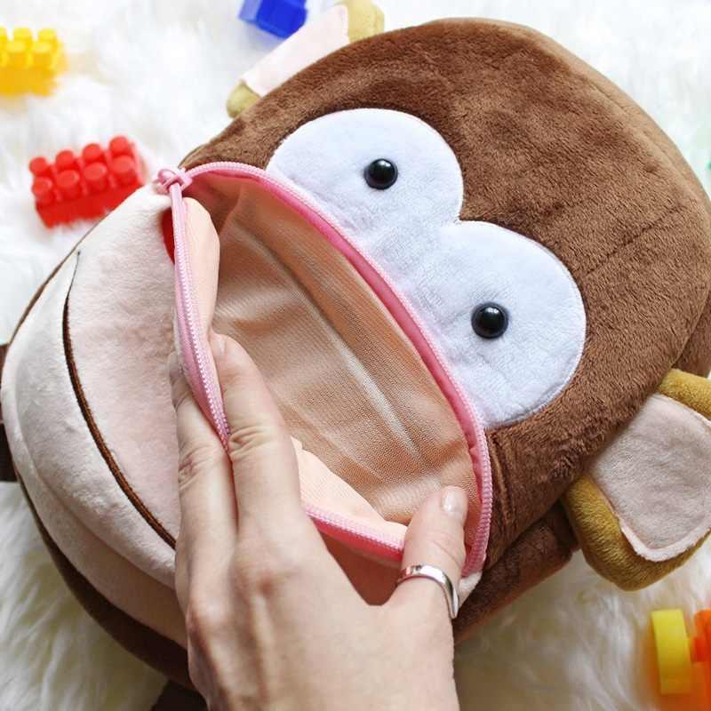 2020 Cartoon Kinder Plüsch Rucksäcke Mini Kindergarten schul Plüsch Tier Rucksack Kinder Schule Taschen Mädchen Jungen Rucksack