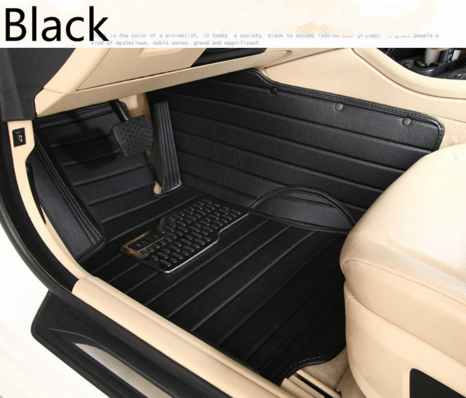 Free ship All Surrounded Durable Rugs Special Car Floor Mats For Volkswagen Beetle Golf Tiguan Sharan Passat CC EOS Most Models