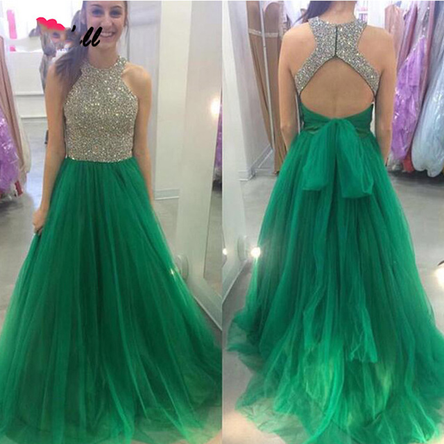 SoDigne Emerald Green Gothic Victorian Prom Dress for Graduation A ...