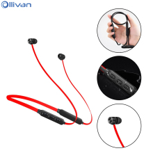 Фотография Ollivan X18 Bluetooth Earphone IPX4 Waterproof Auriculares with Mic Sports Running Wireless Headset Neckband Magnetic Earphones