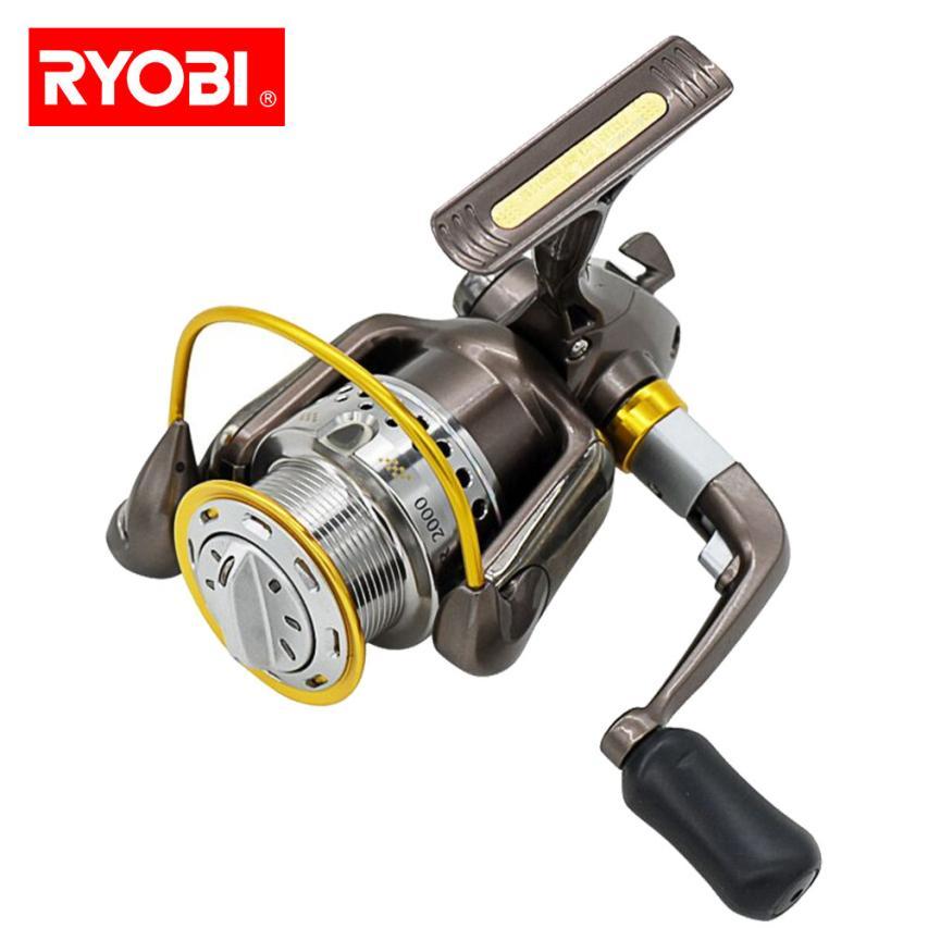 RYOBI ZAUBER Aluminum Body Rotor Ultra Smooth 8+1 BB Spinning Fishing Reel  DE15 катушка безынерционная ryobi zauber cf 3000