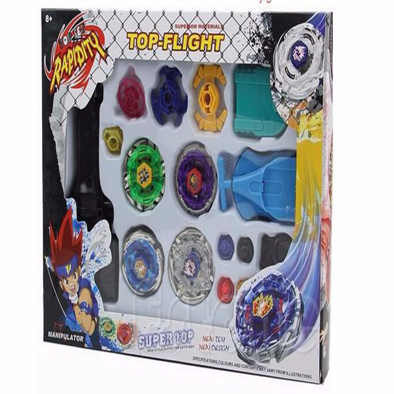 Classic Toys Spinning Tops beyblade metal fusion 4D Launcher Grip Set Fight Master Rare beyblade Kids toys Gifts brinquedos