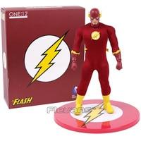 MEZCO DC COMICS The Flash 1/12 Scale PVC Action Figure Collectible Model Toy (real clothes) 16cm