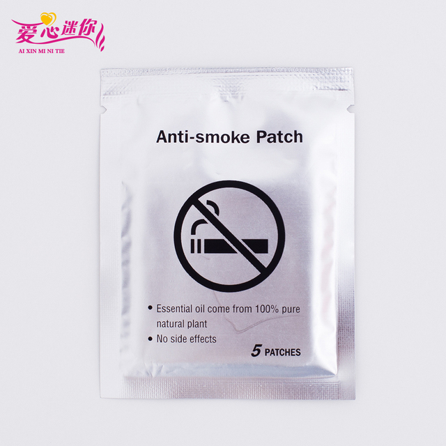 Drop Ship 35 Patches Nicotine Patch Natural Ingredient Anti Smoke Patch for Smoking Cessation Quit Stop Give Up Smoking 2