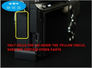 Image 5 - NUOVO Originale per sony A73 A7M3 A7III MICROFONO Gomma Di copertura della macchina Fotografica Parti Di riparazione