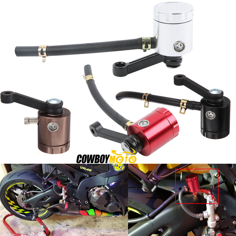 Motorcycle Brake Fluid Reservoir Clutch Tank Cylinder Master Oil Cup For Aprilia Ducati Honda Kawasaki Suzuki Triumph Yamaha universal motorcycle bike brake reservoir master cylinder oil cup fluid bottle for suzuki for kawasaki for yamaha for honda