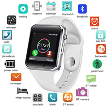 LIGE Smart Watch Women SIM TF Push Message Camera Bluetooth Connectivity Android Phone Sport pedometer Digital reloj inteligente(China)