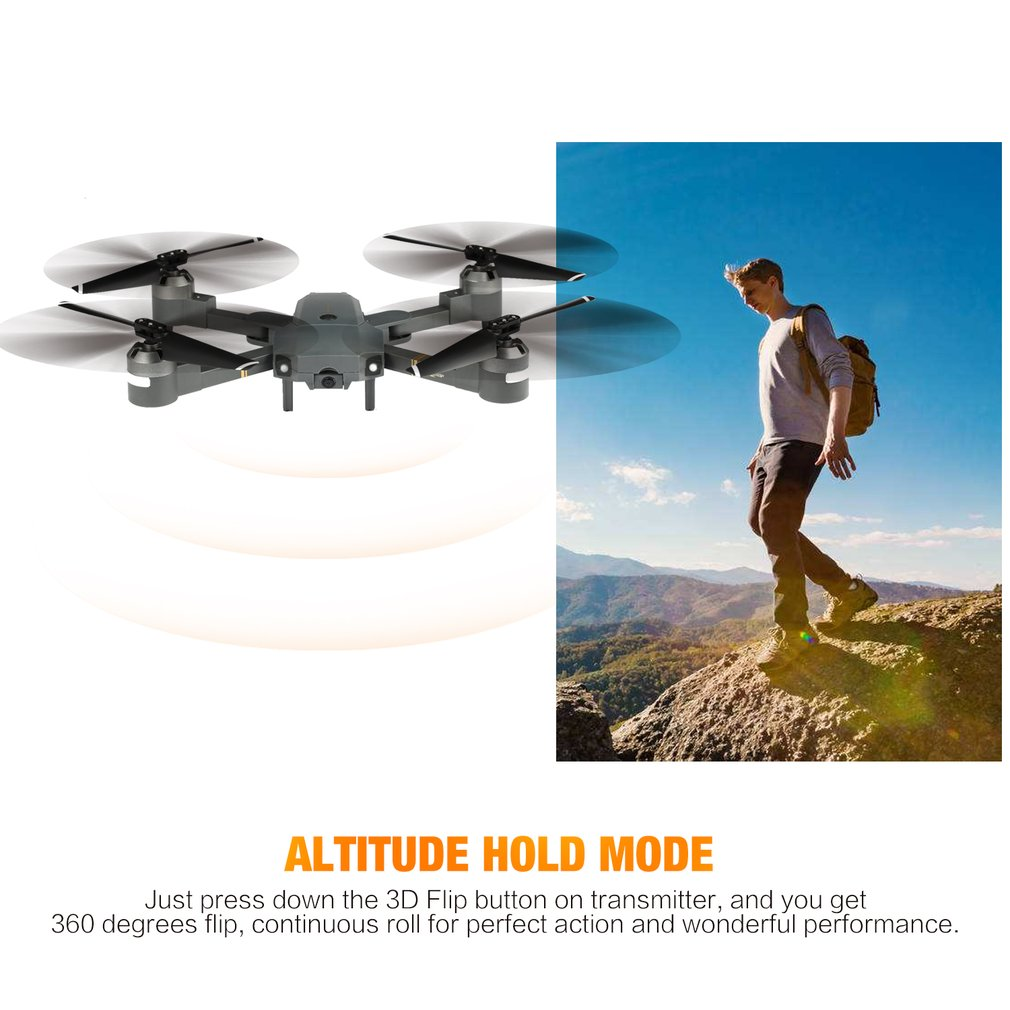 XT-1 RC Quadcopter 2.4G WIFI FPV Drone Camera 3D Flip Altitude Hold One-key Take-off/Landing Headless Mode Foldable HelicopterXT-1 RC Quadcopter 2.4G WIFI FPV Drone Camera 3D Flip Altitude Hold One-key Take-off/Landing Headless Mode Foldable Helicopter