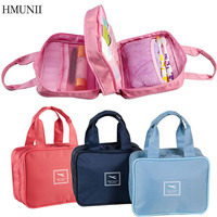 Fashion Cosmetic Bag Travel Hand Wash Bag Portable Multifunctional Storage Bags Organizer Bathroom Cosmetic Bag