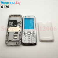 New Full Complete   Mobile     Phone     Housing   Cover Case+English Keypad For Nokia 6120 6120C